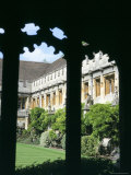 Cloister Quadrangle Detail, Magdalen College, Oxford, Oxfordshire, England, United Kingdom Photographic Print by David Hunter