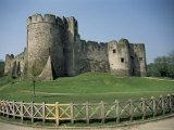 Chepstow Castle, Monmouthshire, Wales, United Kingdom Photographic Print by David Hunter