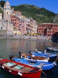 Vernazza, Cinque Terre, Unesco World Heritage Site, Italian Riviera, Liguria, Italy Photographic Print by Bruno Morandi