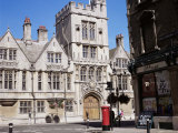Brasenose College from the High Street, Oxford, Oxfordshire, England, United Kingdom Photographic Print by David Hunter