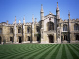 Corpus Christi College, Cambridge, Cambridgeshire, England, United Kingdom Photographic Print by David Hunter