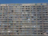 War Damaged Apartment Block, Sarajevo, Bosnia, Bosnia-Herzegovina Photographic Print by Graham Lawrence