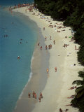 Trunk Bay, St. John, U.S. Virgin Islands, West Indies, Caribbean, Central America Photographic Print by S Friberg