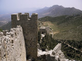 St. Hilarion Castle, North Cyprus, Cyprus Photographic Print by Michael Short
