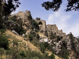 St. Hilarion Castle Perched Upon One of Highest Peaks of Kyrenia Chain, North Cyprus, Cyprus Photographic Print by Michael Short