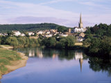 Ross-On-Wye from the River, Herefordshire, England, United Kingdom Photographic Print by David Hunter