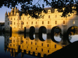 Chateau of Chenonceau, Indre Et Loire, Loire Valley, France Photographic Print by Bruno Morandi