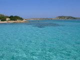 Cala Dei Cavaliere, Budelli Island, Maddalena Archipelago, Island of Sardinia, Italy Photographic Print by Bruno Morandi