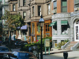 Newbury Street, Boston's Premier Shopping Street, Back Bay, Boston, Massachusetts, USA Photographic Print by Fraser Hall
