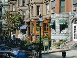 Newbury Street, Boston's Premier Shopping Street, Back Bay, Boston, Massachusetts, USA Photographic Print by Fraser Hall