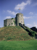 Norman Keep, Cardiff Castle, Cardiff, Glamorgan, Wales, United Kingdom Photographic Print by David Hunter