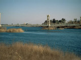 The River Euphrates at Deir Ez-Zur, Syria, Middle East Photographic Print by S Friberg