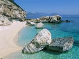 Cala Mariolu, Cala Gonone, Golfe Di Orosei (Orosei Gulf), Island of Sardinia, Italy Photographic Print by Bruno Morandi