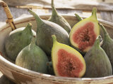 Figs in a Baskest Photographic Print by Michelle Garrett