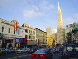 Little Italy, Columbus Avenue, North Beach, San Francisco, California, USA Photographic Print by Fraser Hall