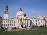City Hall, Cardiff, Wales, United Kingdom Photographic Print by David Hunter