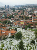 War Cemetery, Sarajevo, Bosnia, Bosnia-Herzegovina Photographic Print by Graham Lawrence