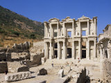 Library of Celsus, Ephesus, Anatolia, Turkey, Eurasia Photographie par Michael Short