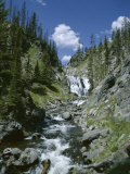 Rapids, Yellowstone National Park, Unesco World Heritage Site, Wyoming, USA Photographic Print by Jane O'callaghan