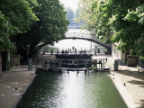 Canal St. Martin, Paris, France Photographic Print by Mark Mawson