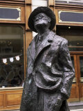 Statue of James Joyce, O'Connell Street, Dublin, Eire (Republic of Ireland) Photographic Print by Michael Short