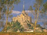 Mont Saint Michel, Unesco World Heritage Site, Manche, Normandy, France Photographic Print by Bruno Morandi