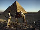 The Great Pyramid at Giza, Unesco World Heritage Site, Near Cairo, Egypt, North Africa, Africa Photographic Print by John Ross