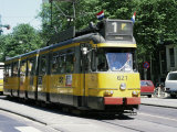 Trams Take Precedence Over All Traffic Except Cycles, Amsterdam, Holland Photographic Print by Michael Short