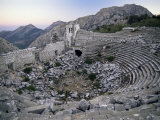 The Amphitheatre at Termessos, Anatolia, Turkey, Eurasia Photographic Print by S Friberg