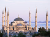 The Blue Mosque, Unesco World Heritage Site, Istanbul, Turkey Photographic Print by Simon Harris