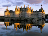 Chateau De Chambord, Unesco World Heritage Site, Loir-Et-Cher, Pays De Loire, Loire Valley, France Photographie par Bruno Morandi