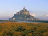 Mont Saint Michel, Unesco World Heritage Site, Manche, Normandy, France Photographic Print by Bruno Morandi
