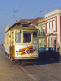 Tram, Porto, Portugal Photographic Print by Fraser Hall
