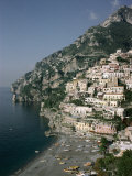 Positano, Costiera Amalfitana (Amalfi Coast), Unesco World Heritage Site, Campania, Italy Photographic Print by John Ross