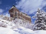 Palace Hotel, St. Moritz, Switzerland Photographic Print by John Ross