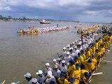 Water Festival, Phnom Penh, Cambodia, Indochina, Southeast Asia Photographic Print by Bruno Morandi