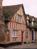 Timbered Houses, Lavenham, Suffolk, England, United Kingdom Photographic Print by Mark Mawson