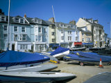 Seafront from Yacht Park, Aberdovey, Gwynedd, Wales, United Kingdom Photographic Print by David Hunter