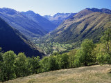 Valley Close to Castillion De Larboust, French Side of the Pyrenees, Midi Pyrenees, France Photographic Print by S Friberg