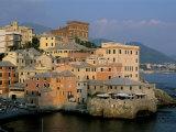 Boccadasse Quarter, Genes, Genova (Genoa), Liguria, Italy Photographic Print by Bruno Morandi