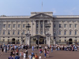 Panoramic View of Buckingham Palace, London, England, United Kingdom Photographic Print by Raj Kamal