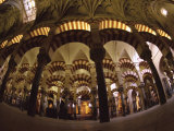 Interior of the Great Mosque, Houses a Later Christian Church Inside, Andalucia Photographic Print by S Friberg