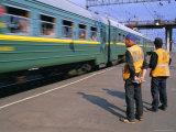 Trans-Siberian Express, Siberia, Russia Photographic Print by Bruno Morandi