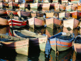 Fishing Harbour, El Jadida, Atlantic Coast, Morocco, North Africa, Africa Fotografie-Druck von Bruno Morandi
