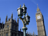 Big Ben and the Houses of Parliament, Unesco World Heritage Site, Westminster, London, England Photographic Print by Fraser Hall