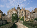 Ratilly Castle, Puisaye, Picardie (Picardy), France Photographic Print by Michael Short