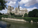 Notre Dame De Paris, Ile De La Cite, Paris, France Photographic Print by John Ross
