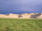 Khongryn Dunes, Gobi Desert, Gobi National Park, Omnogov Province, Mongolia, Central Asia Photographic Print by Bruno Morandi