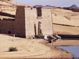 Temple, Wadi Es Sebuia, Nubia, Sudan, Africa Photographic Print by John Ross