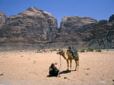 Camel, Wadi Rum, Jordan, Middle East Photographic Print by Michael Short